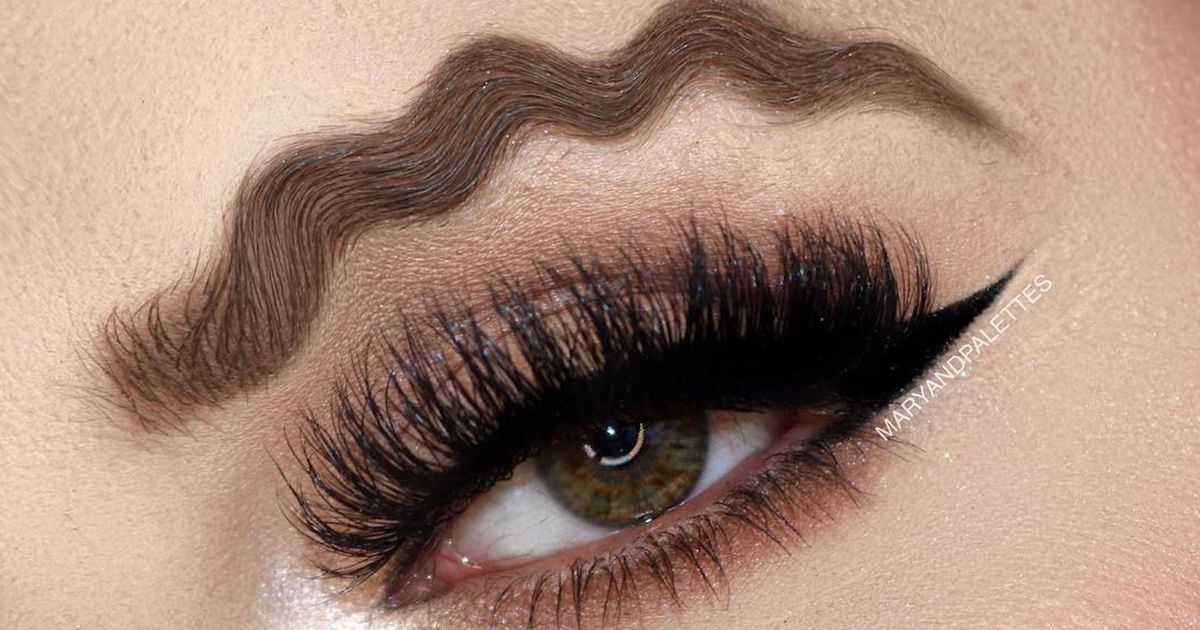 The New Eyebrow Trend You Hope Will Die Quickly Anith