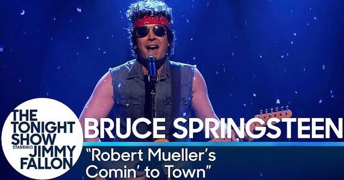 Jimmy Fallon uses Bruce Springsteen\'s classic Christmas song to mock ...