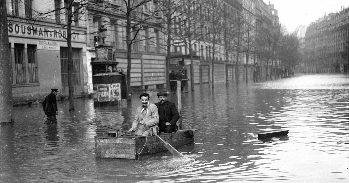 the 1910 great flood of paris was the worst the city s seen anith