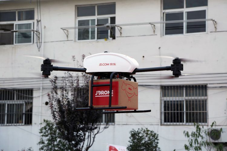 China drone delivery