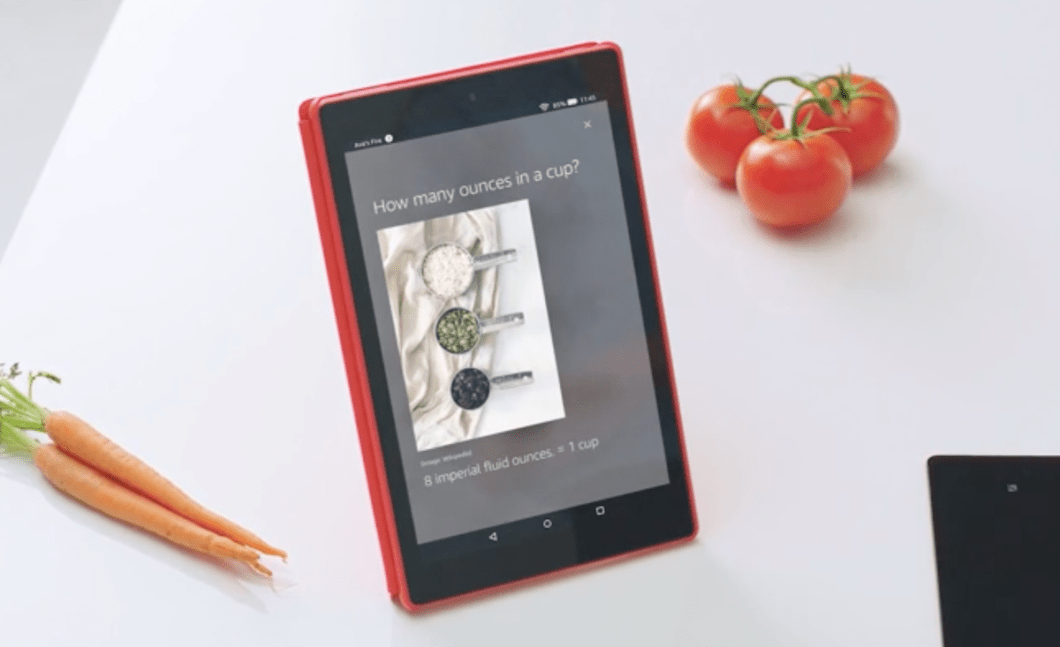 The Amazon Fire HD 10 Tablet.