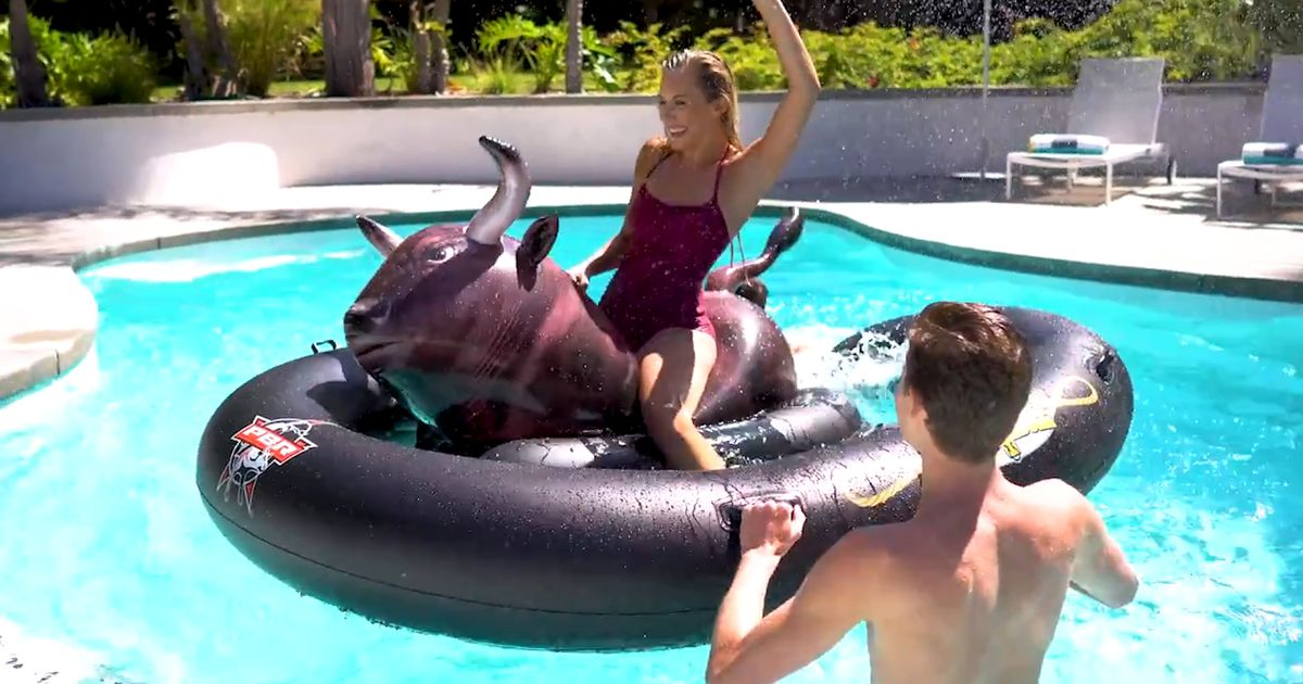 Even If This Isn T Your First Rodeo This Inflatable Bull