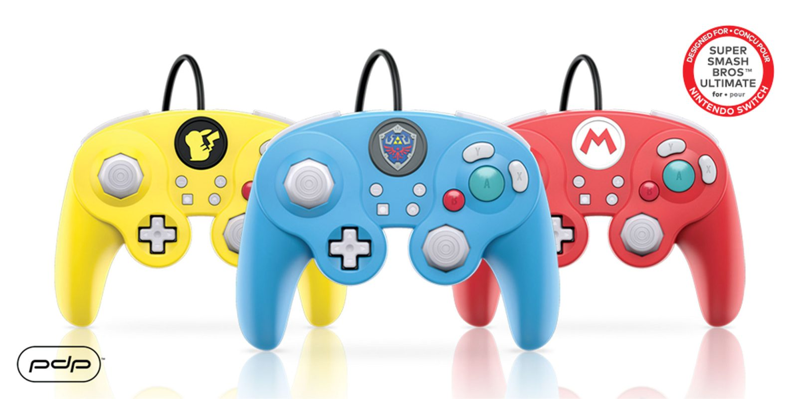pdp announces its gamecube inspired wired smash pad pro controller