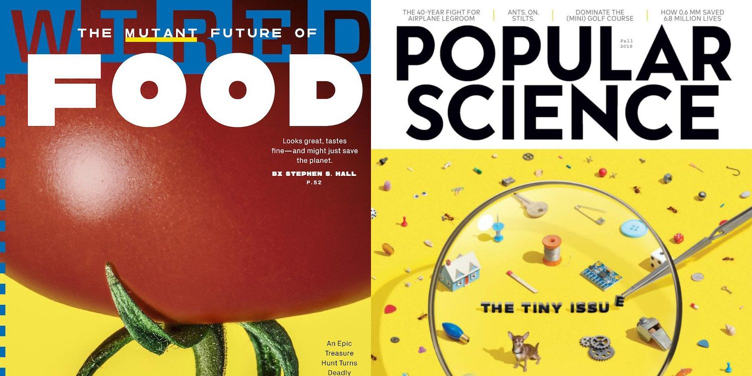 Magazine subs from $5/yr: Wired, Architectural Digest, Pop Science ...
