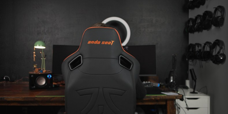 the AndaSeat Fnatic edition gaming chair fits in at any battlestation
