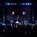 Roselia during their live performance at CharaExpo 2019