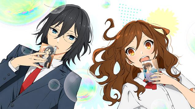 HoriMiya anime poster.
