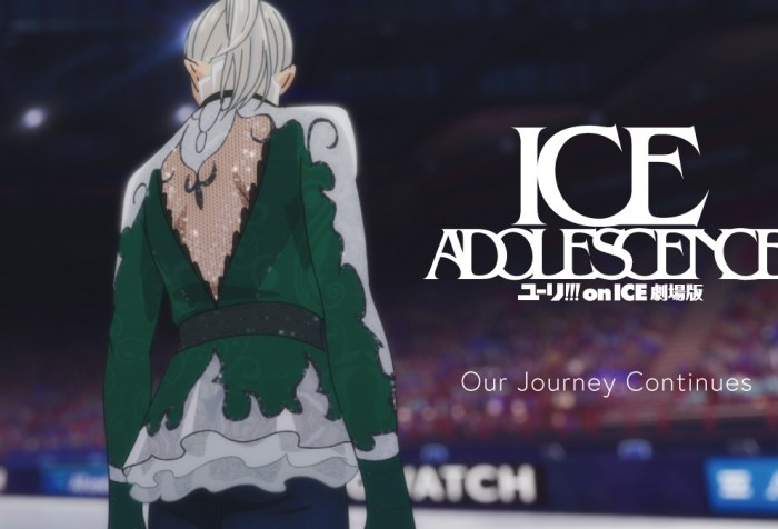 YURI!!! on ICE the movie: ICE ADOLESCENCE Production In Progress, Trailer Released