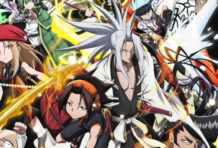 Shaman King 2021 Anime Reboot to Stream on Netflix