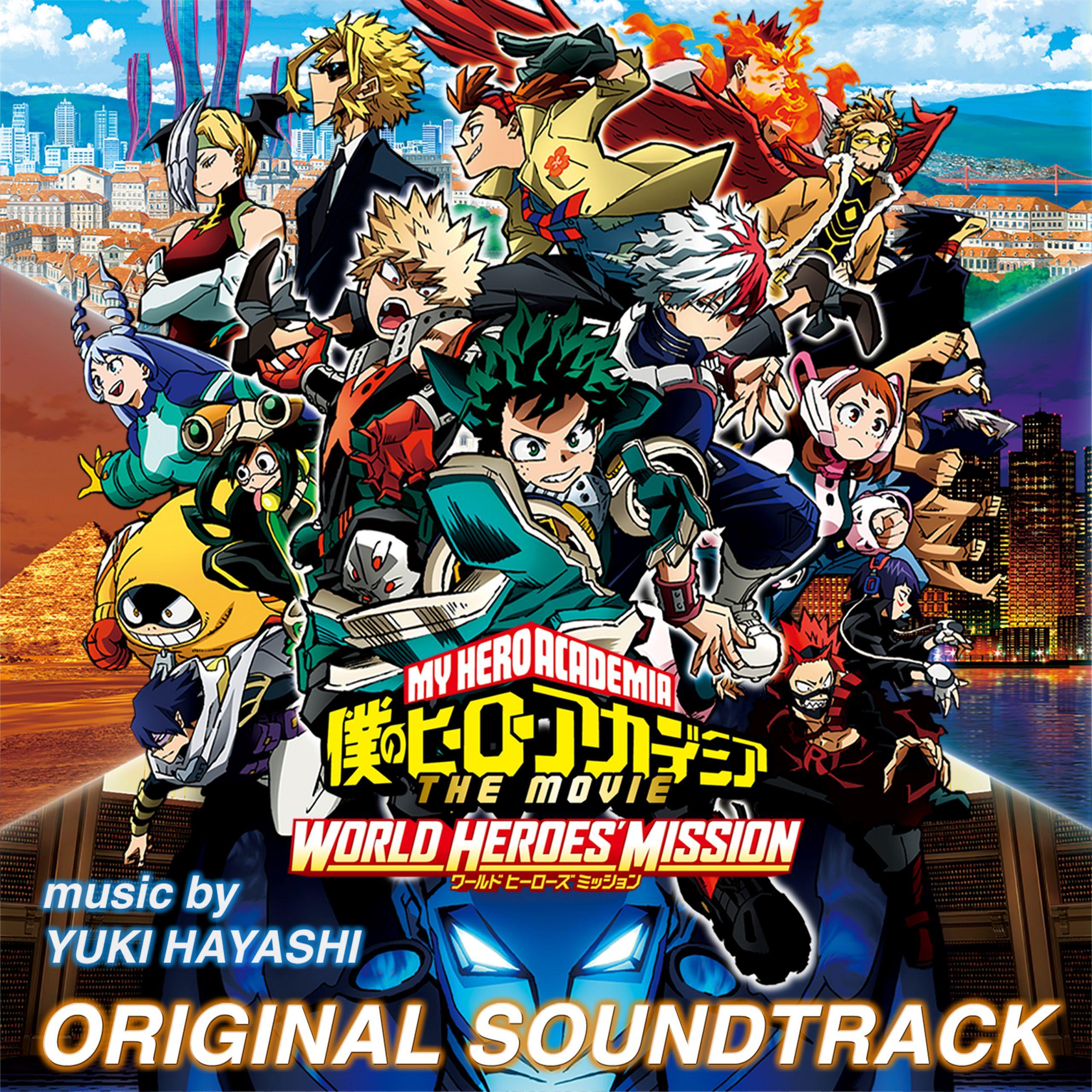 World Heroes Mission Soundtrack Now Available En Buradabiliyorum Com