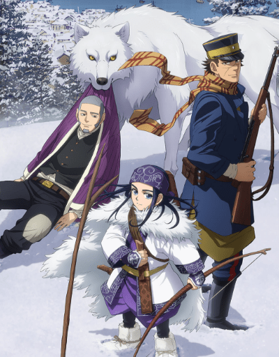 Golden Kamuy Best in Adaptation
