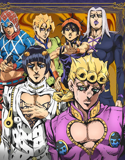 JoJo's Bizarre Adventure Part 5: Golden Wind Best in Character Design
