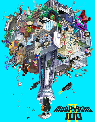 Mob Psycho 100 II Action or Adventure Anime of the Year