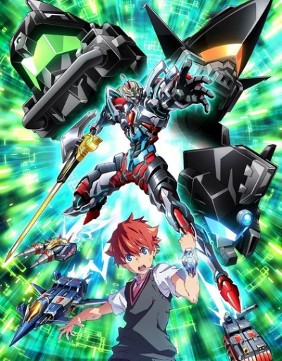 SSSS.Gridman SciFi or Mecha Anime of the Year