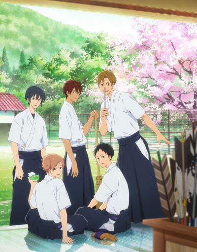 Tsurune Best in Animation Effects and Sequences
