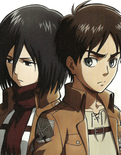 Eren x Mikasa Couple Ship of the Year