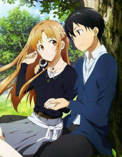 Kirito x Asuna Favorite Couple Ship