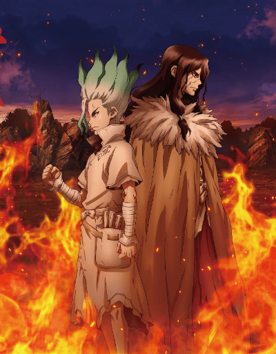 Dr.STONE: STONE WARS Action or Adventure Anime of the Year