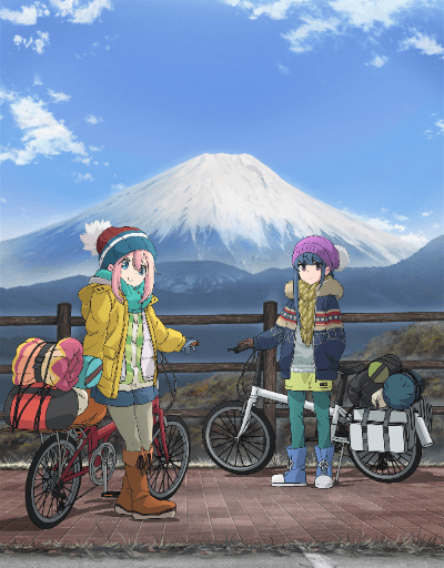 Laid-Back Camp S2 Slice of Life Anime of the Year