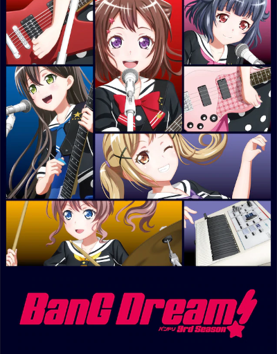 Bang Dream S3 Music Anime of the Year