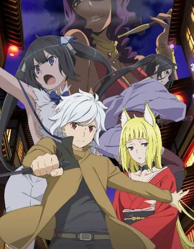 Danmachi S2 Fantasy or Magical Anime of the Year