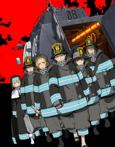 Fire Force Best in Animation Effects and Sequences