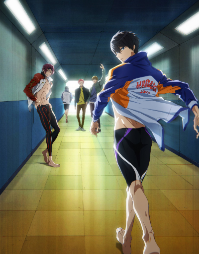 Free! Dive to the Future Sports Anime of the Year