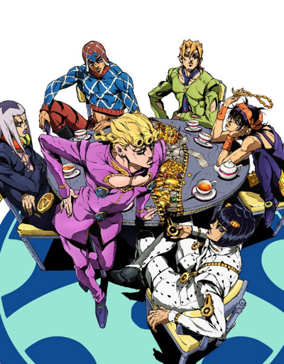 JoJo's Bizarre Adventure Part 5: Golden Wind Supernatural Anime of the Year