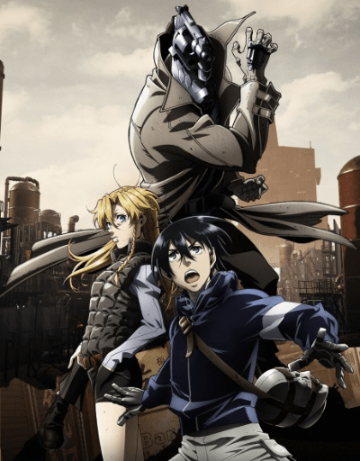 No Guns Life Best in Character Design