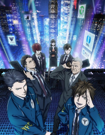 Psycho-Pass S3 Mecha or SciFi Anime of the Year