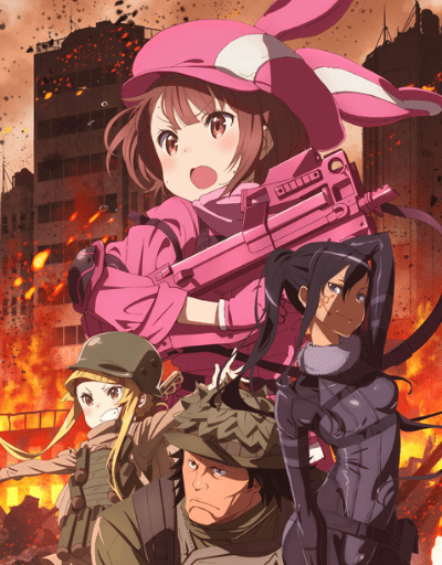SAO Alternative: Gun Gale Online Action or Adventure Anime of the Year