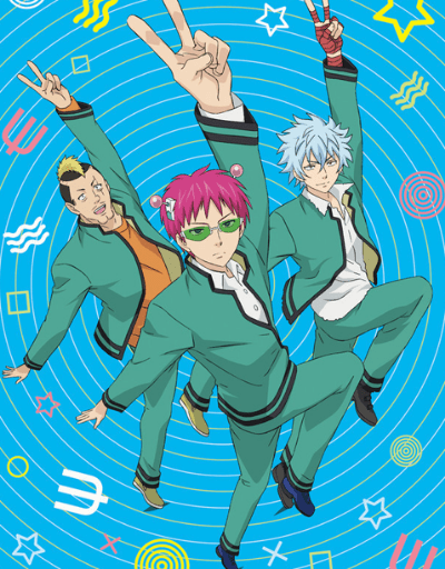 The Disastrous Life of Saiki K.2 Supernatural Anime of the Year