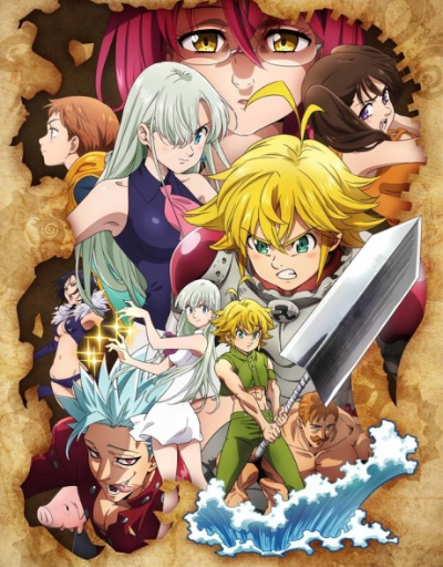 The Seven Deadly Sins: Wrath of the Gods Supernatural Anime of the Year