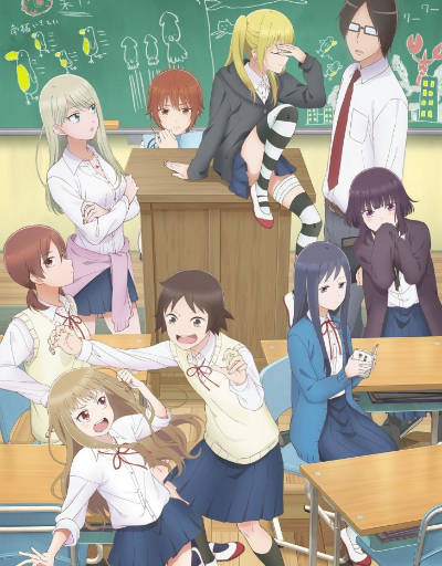 Wasteful Days of High School Girls Slice of Life Anime of the Year