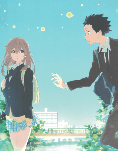 A Silent Voice Anime Movie of the Year
