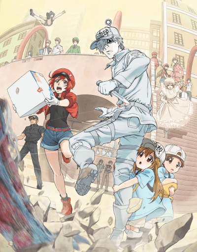 Cells at Work! Slice of Life Anime of the Year