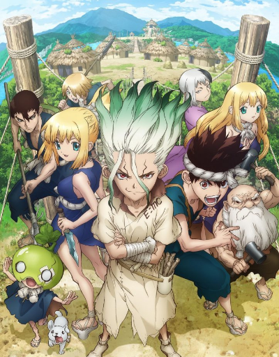 Dr. Stone Anime of the Year