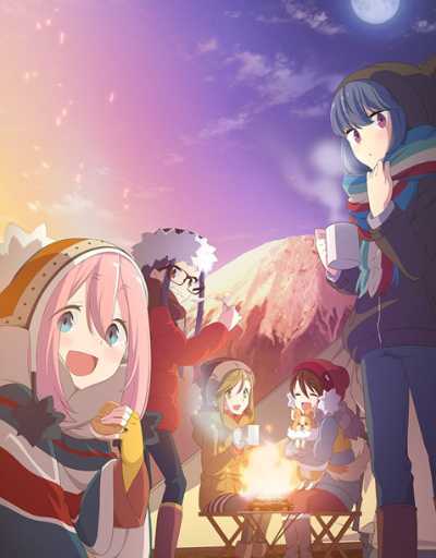 Laid-Back Camp Anime of the Year