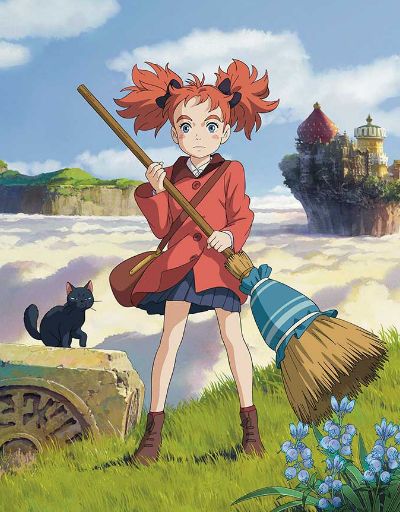 Mary and the Witch's Flower Anime Movie of the Year