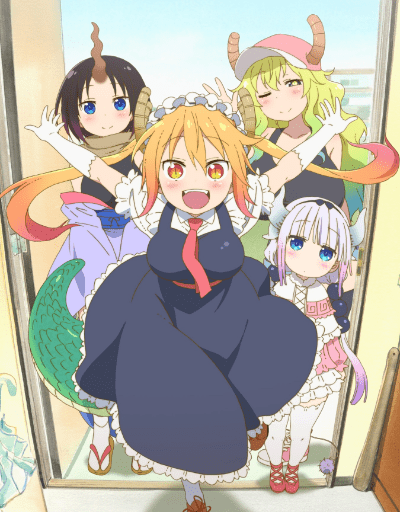 Miss Kobayashi's Dragon Maid Best in Animation Effects and Sequences
