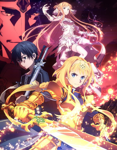 Sword Art Online Alicization: War of the Underworld Action or Adventure Anime of the Year