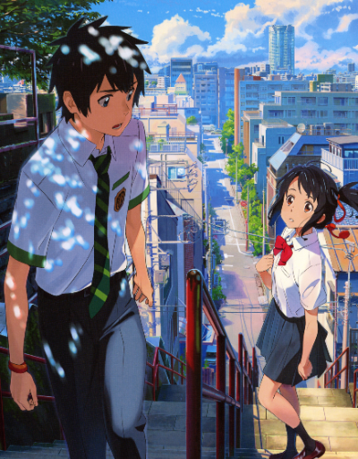 Your Name Anime Movie of the Year