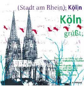 Köln, grüßt sich, schwarz