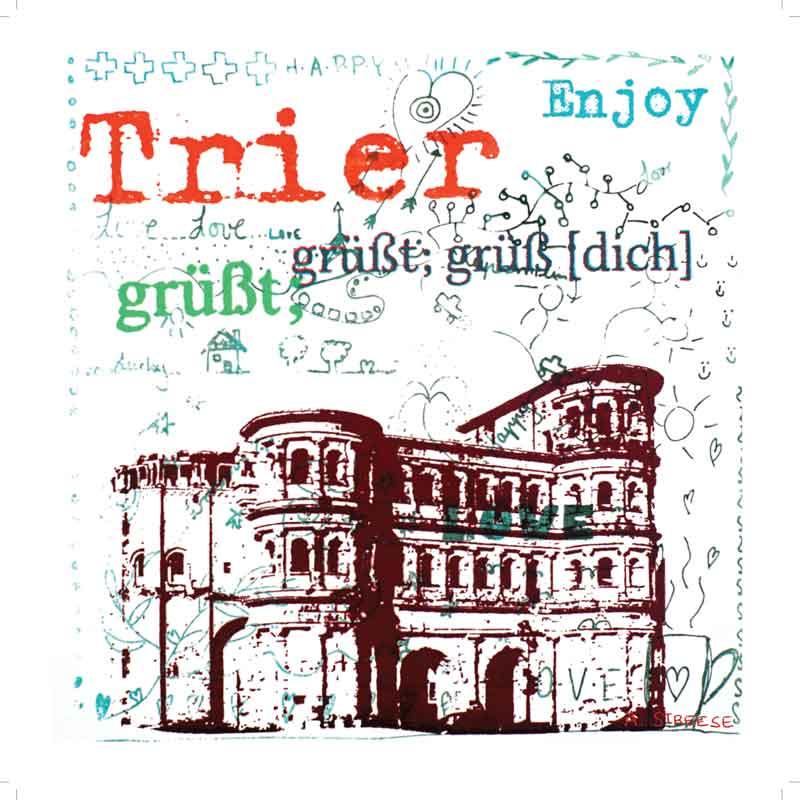 Trier, Porta-Nigra, grüßt