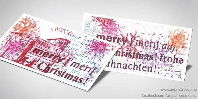 Weihnachtskarten Trier
