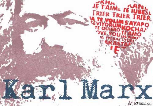 Trier 8x5,5 Karl Marx Herz