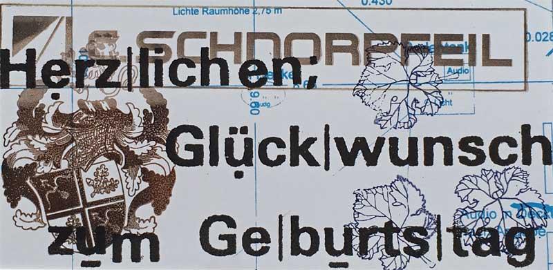 Schnorpfeil Grusskarte 5, Trier