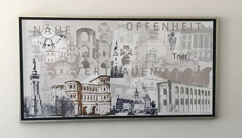 Volksbank Trier Siebdruck Trier