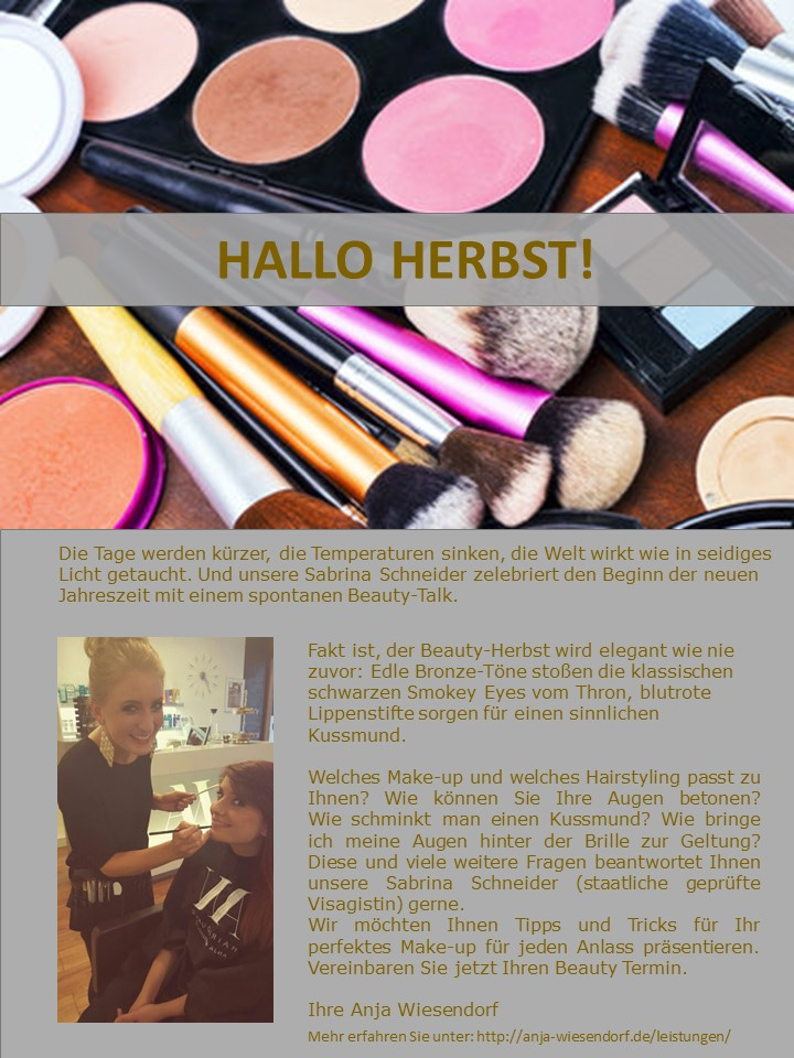 Herbst Beauty Trends 2015