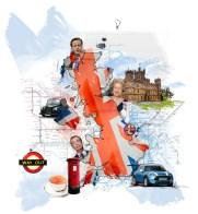 Digitale Collage für ein Bankmagazin; für Redaktion 4